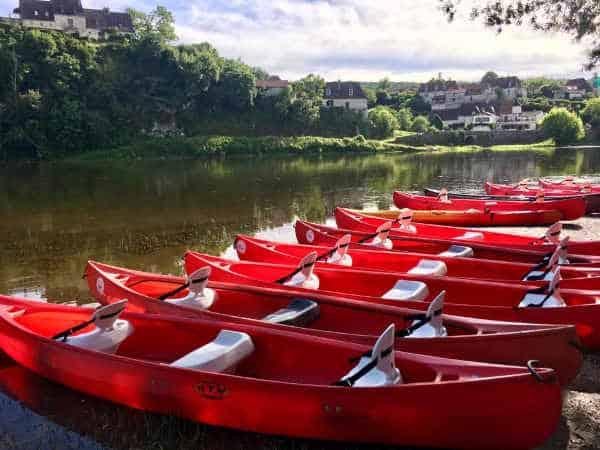 canoe dordogne pictures port d'Enveaux