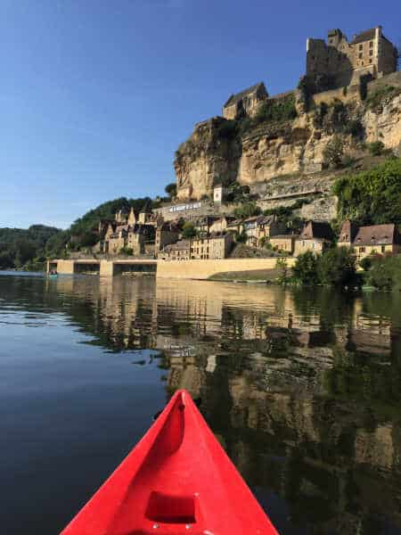 canoe dordogne photo la Roque Gageac